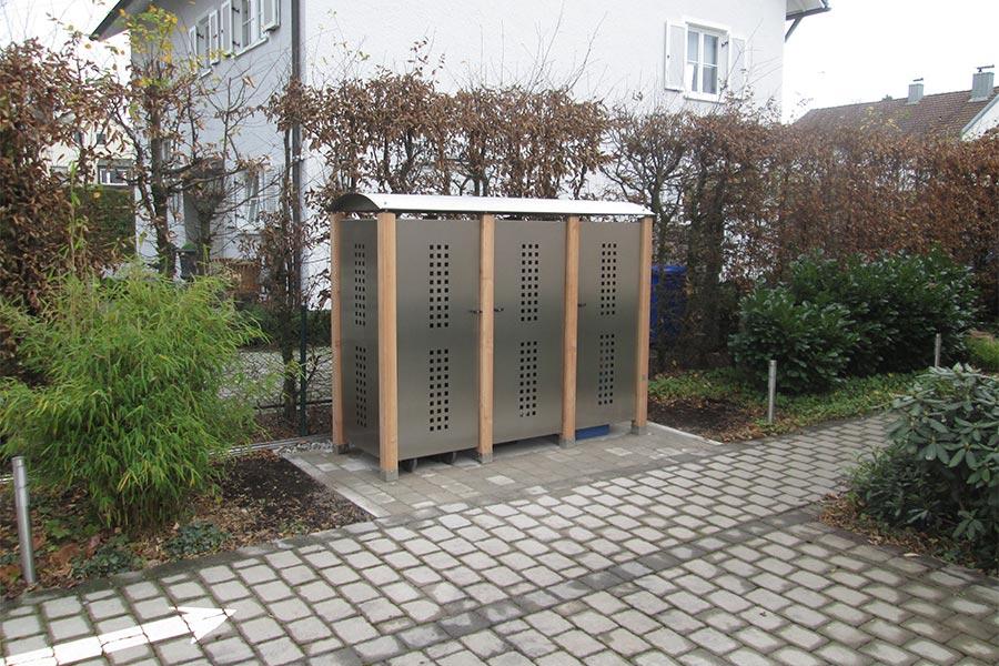 Mülltonnenboxen von Kutter Gartengestaltung