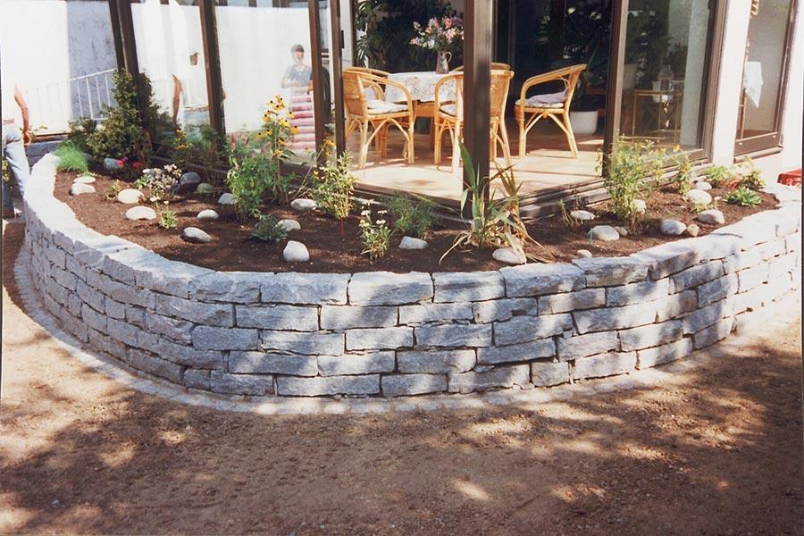 Mauerarbeiten von Kutter Gartengestaltung
