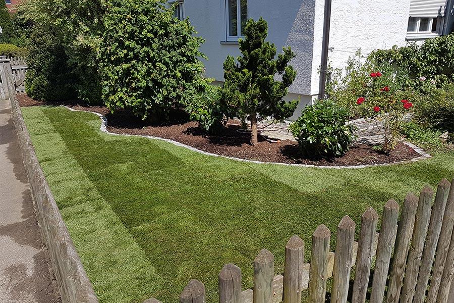 Rasenarbeiten von Kutter Gartengestaltung