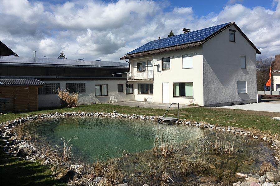Teich im Garten - Projekt von Kutter Gartengestaltung