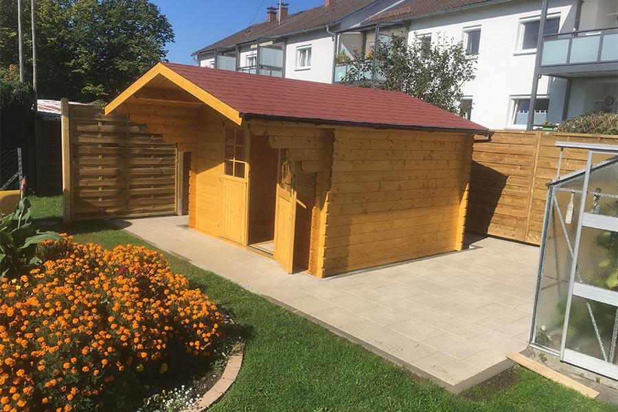 Gartenhaus von Kutter Gartengestaltung aus Memmingen