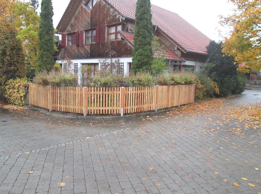 Holzzaun von Kutter Zaunbau in Memmingen