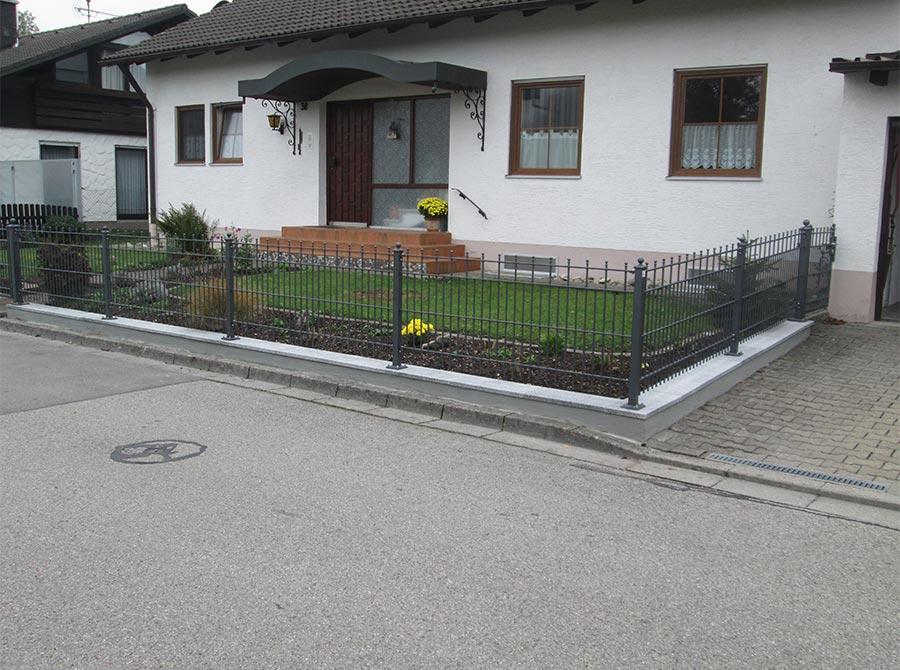 Metallzaun von Kutter Gartengestaltung und Zaunbau aus Memmingen