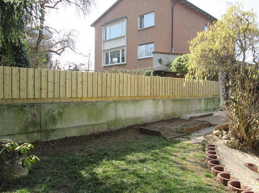Zaun als Abgrenzung von Kutter Gartengestaltung und Zaunbau