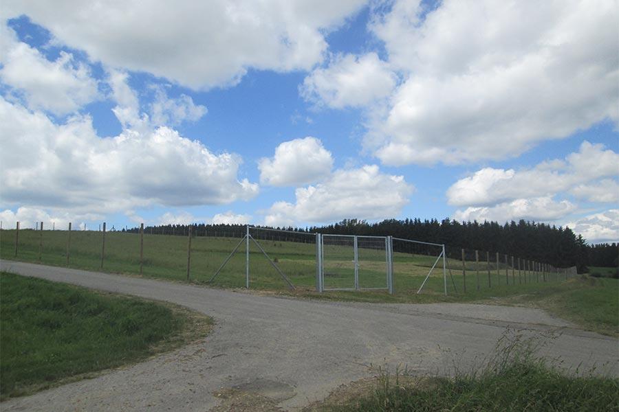 Zaun für Wiesen
