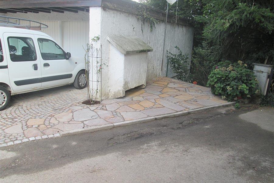 Sitzecke - gepflastert von Kutter Gartengestaltung