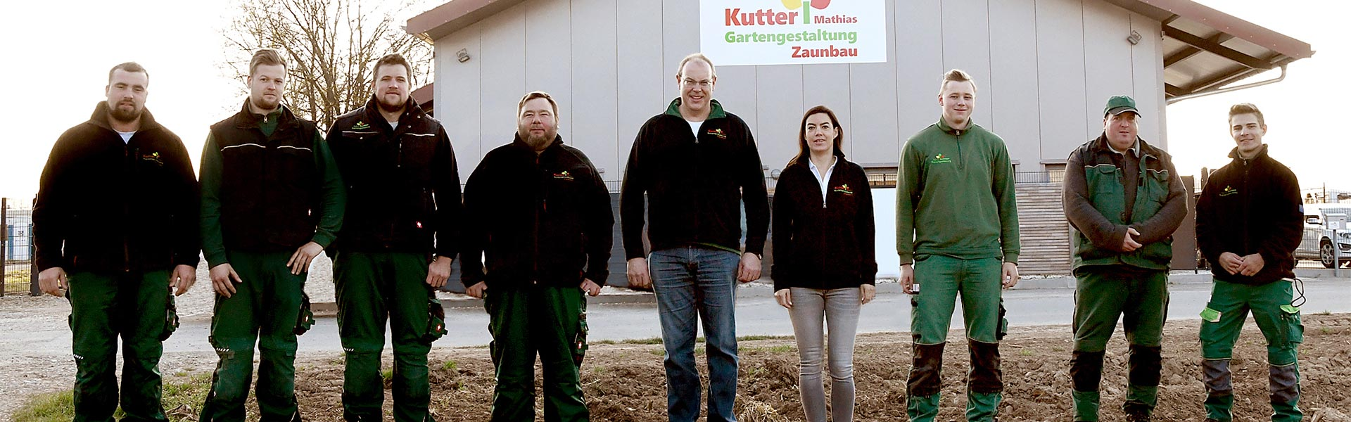 Team von Mathias Kutter Gartengestaltung